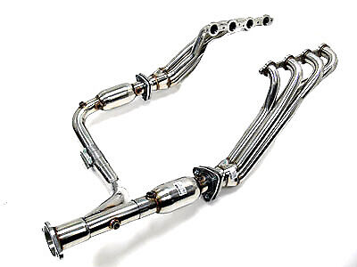 OBX Long Tube Header For 07-08 Chevy Silverado 1500 4.8/5.3/6.0L 2/4WD
