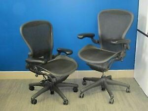Great Condition Herman Miller Aeron Chairs Fully Loaded! A,B,C