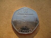 50p Coin London Olympic Games Offside Rule Explained 2011 2012