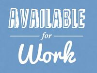 Hard Worker Available! Plumber Apprentice, Construction, Other