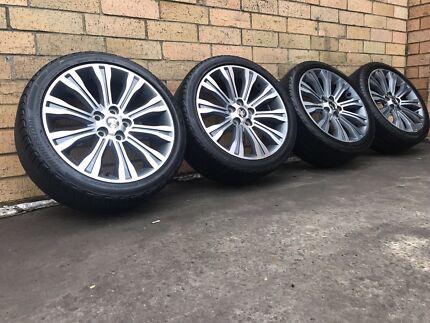 Commodore Calais signature wheels Holden Genuine Used Lidcombe Auburn Area Preview