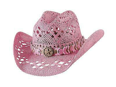 New Bullhide Naughty Girl Pink Cowboy Hat](Girls Pink Cowboy Hat)