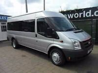 Save 20% today with Pro Minibuses Glasgow. 8,12,16 seat minibus for hire with driver.