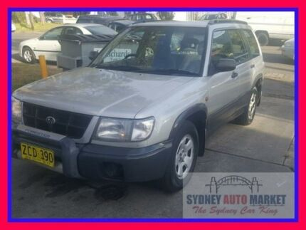 1998 Subaru Forester 79V MY99 Limited AWD Silver 4 Speed Automatic Wagon