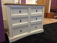 Large Solid Pine Sideboard Cupboard Drawers