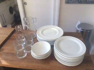 Plates, bowls, glasses and jug Surry Hills Inner Sydney Preview