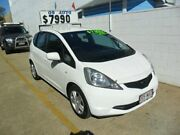 2009 Honda Jazz GE MY09 VTi White 5 Speed Automatic Hatchback Kippa-ring Redcliffe Area Preview