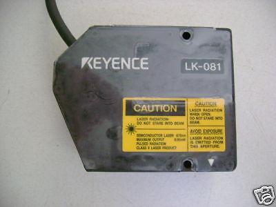 Keyence Lk081 Laser Displacement Head Small Spot