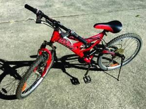 GENUINE HUFFY BMX STYLE MOUNTAIN BIKE - NEW TYRES 15 SPEED GEARS West Gosford Gosford Area Preview
