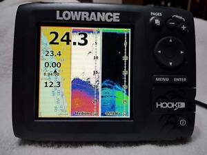 Lowrance Hook 5 Sounder/GPS combo with Downscan and maps Southern River Gosnells Area Preview