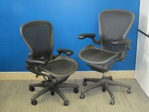 Herman Miller Aeron Chairs - Excellent Condition