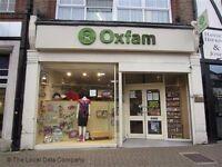 Volunteer Shop Assistant at Oxfam