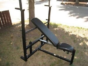 BODY SOLID HEAVY-DUTY INCLINE/FLAT/DECLINE OLYMPIC WEIGHT BENCH