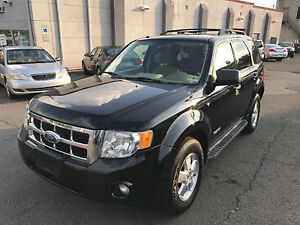 2008 Ford Escape LIMITED-4WD-LEATHER-SUNROOF-CLEAN CARPROOF