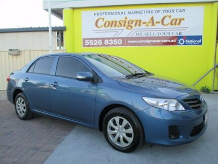 2012 Toyota Corolla ZRE152R MY11 Ascent Blue 4 Speed Automatic Sedan