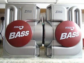 Sanyo SX-VX5 Speakers 2x70w, 6 ohm Active Bass Extension