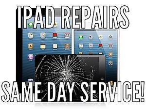 iPad, iPad mini, iPad Air and iPod glass screen/LCD repair