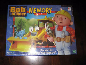 Bob the Builder Memory Game-Complete/mint