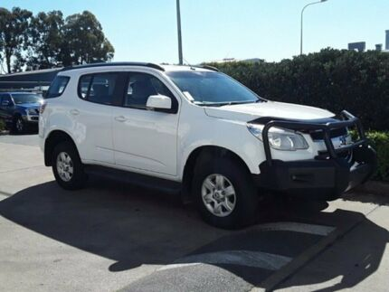 2015 Holden Colorado 7 RG MY16 LT White 6 Speed Sports Automatic Wagon