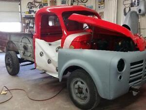 1950 dodge or Fargo box sides only & ft panel