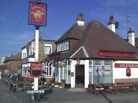Bar Staff as well as Pub Cook / Chef needed for newly renovated pub in Jaywick near Clacton-on-Sea