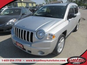 2010 Jeep Compass LOADED LIMITED EDITION 5 PASSENGER 4X4.. LEATH