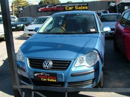 2007 Volkswagen Polo 9N MY07 Upgrade Match 5 Speed Manual Hatchback