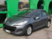 2010 Peugeot 207 A7 Series II MY10 XT Dark/silver 4 Speed Sports Automatic Hatchback Nailsworth Prospect Area Preview