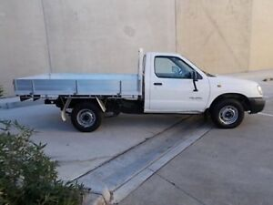 1999 Nissan Navara D22 DX Cab Chassis Single Cab 2dr Man 5sp 1390kg 2.4i White Manual Cab Chassis