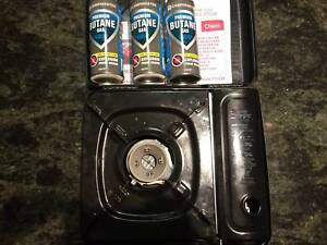Camping Gas Stove + 3 Cartridges Surry Hills Inner Sydney Preview