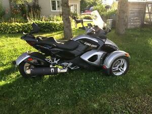 Can Am Spyder RS 2009 manuel