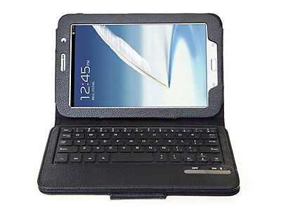KHOMO PU Leather Cover Case with Removable Bluetooth Keyboard