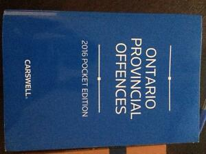 POLICE FOUNDATIONS TEXTBOOK - ONTARIO PROVINCIAL OFFENCES