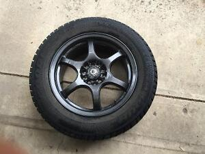 Set of 4 Winter Tires & Rims
