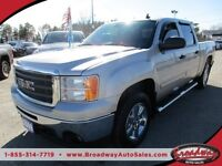 2009 GMC Sierra WELL EQUIPPED SLE MODEL 6 PASSENGER 4X4.. CREW..