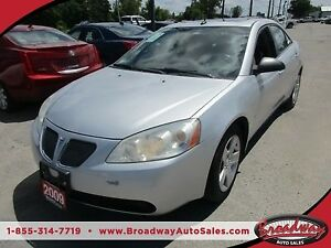 2009 Pontiac G6 POWER EQUIPPED 'SPORTY' 5 PASSENGER 2.4L - ECO-T