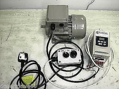 ¾ HP MOTOR & 1HP DIGITAL INVERTER PACKAGE + REMOTE POD for MYFORD BOXFORD LATHE