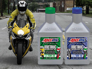 AMSOIL Synthetic Motorcycle Oils, Filters & More