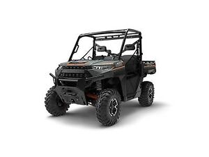 2018 Polaris Ranger XP 1000 EPS Matte Titanium Metallic