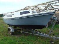 Matilda 20 sailing boat needs TLC