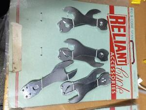 Vintage Reliant Bicycle tools