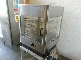 Lincat UMS50 Upright Heated Merchandiser - Commercial Hot Food Display