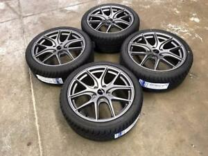 "18"" Avante Garde Wheels 5x114.3 and All Season Tires 225/40ZR18 (Japanese Cars) Calgary Alberta Preview"
