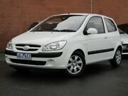 2007 Hyundai Getz TB MY06 White 5 Speed Manual Hatchback Glen Iris Boroondara Area Preview