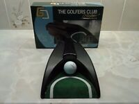 Golf putting machine plus putter
