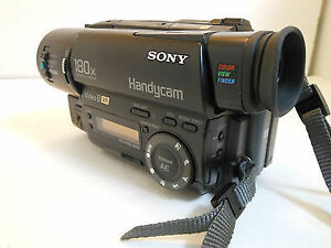 8 mm Camcorder Sony Video Camera Model CCD-TR416