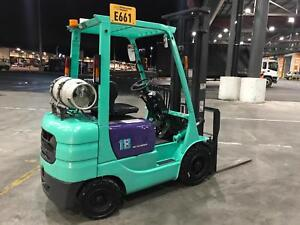 Mitsubishi 1.8t forklift (sideshift) Epping Whittlesea Area Preview