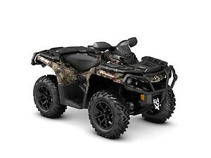 2018 Can-Am Outlander XT 850 Mossy Oak Break-up Country Camo