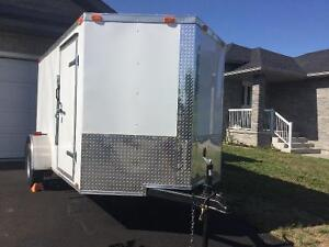 MINT CONDITION! 2016 6'x12' enclosed trailer- used twice