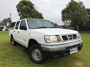 1998 Nissan Navara D22 ST White 5 Speed Manual Utility Somerton Park Holdfast Bay Preview